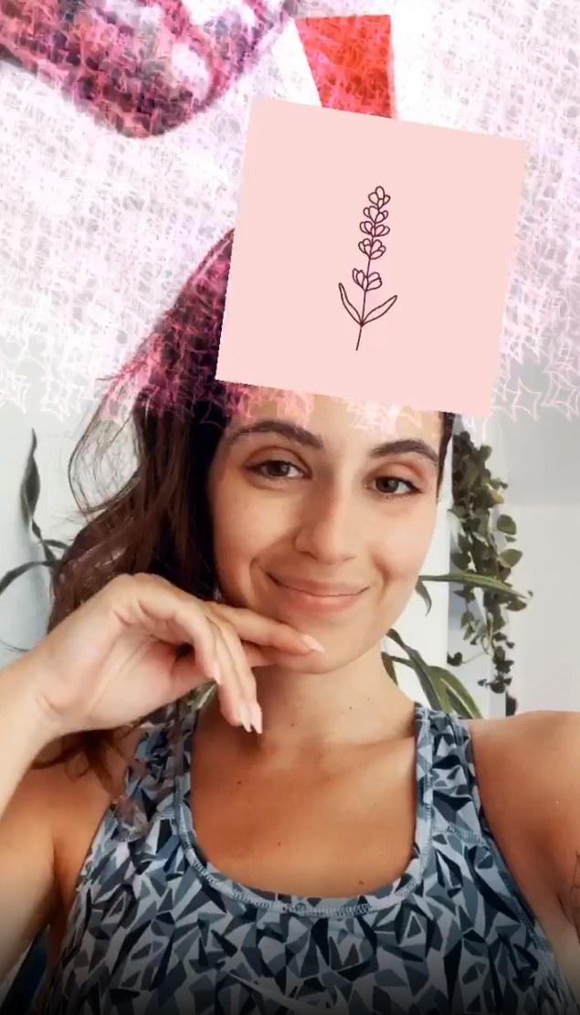 שרה קורי פילטר אינסטגרם מעצבת